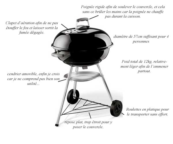 barbecue weber comment ca marche