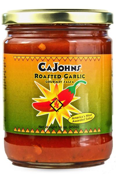 Salsa à l'ail grillé de Cajohn's