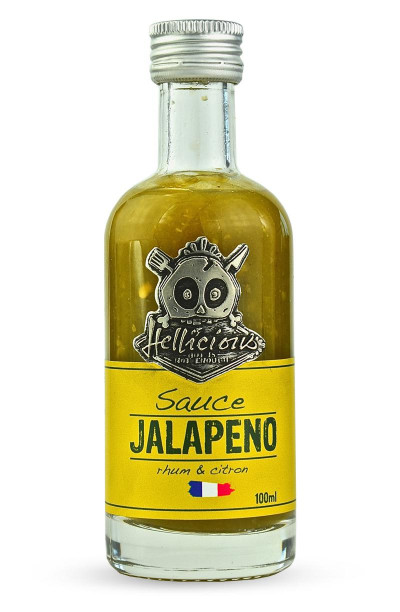 Sauce aux piments jalapenos frais Hellicious