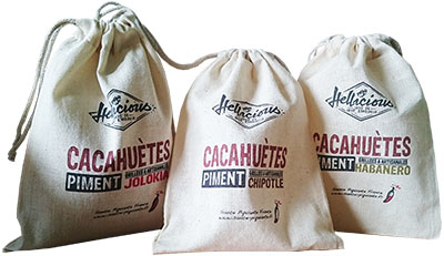3 sacs 3 piments