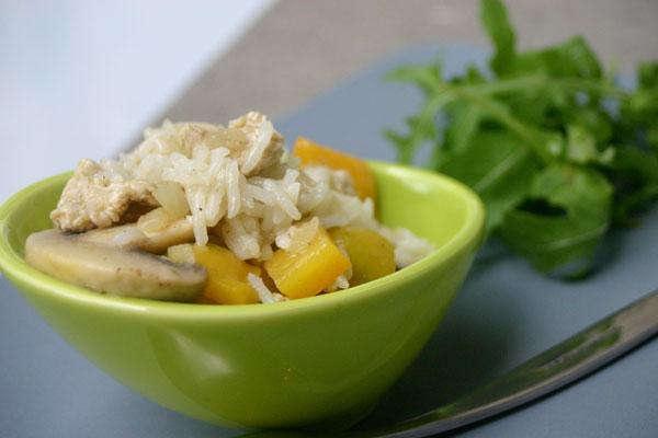 salade de poulet au jalapeno