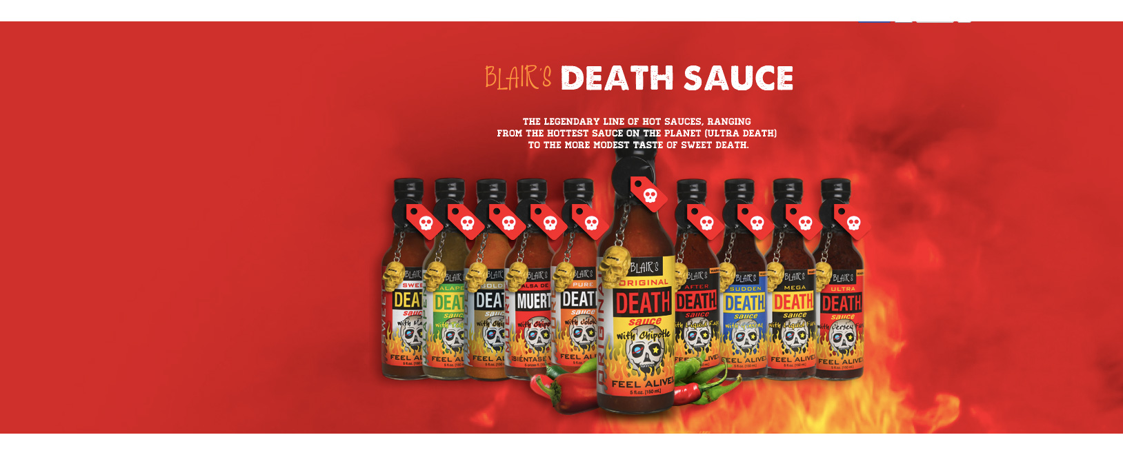 Image les sauces blair's