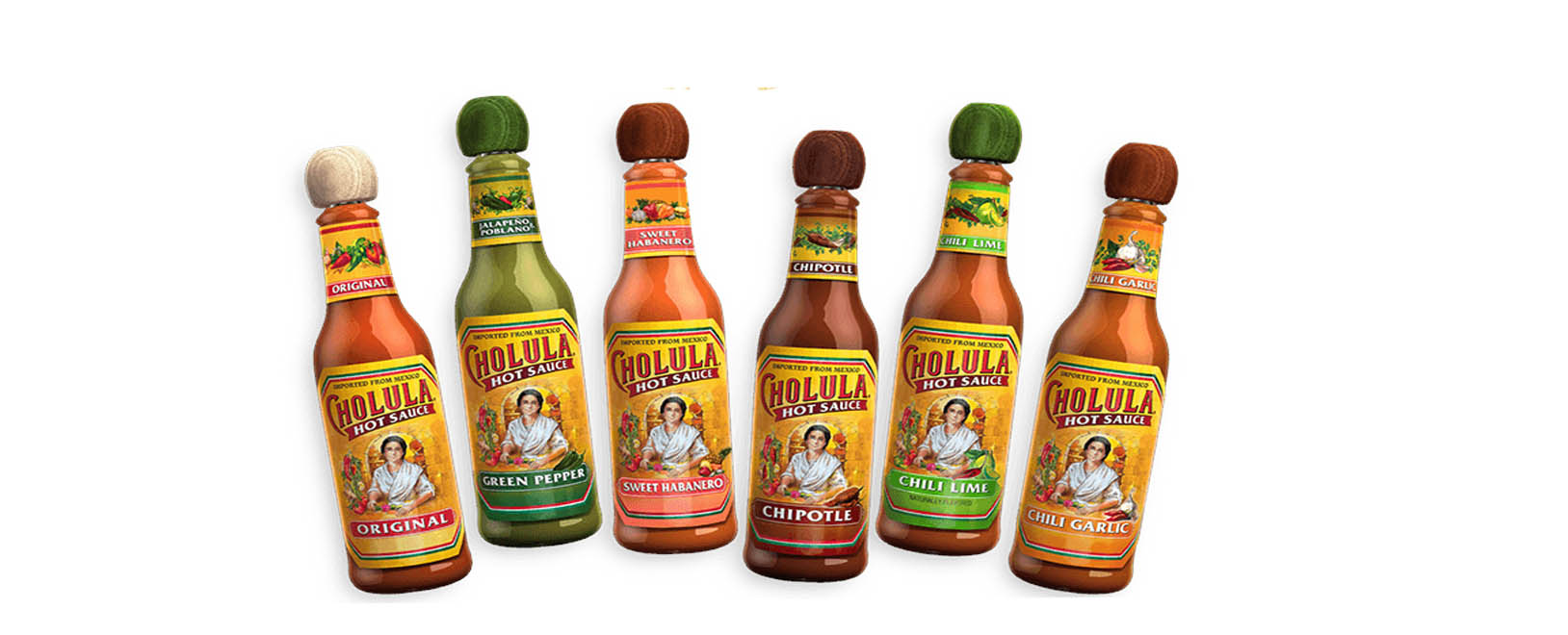 Les sauces cholula