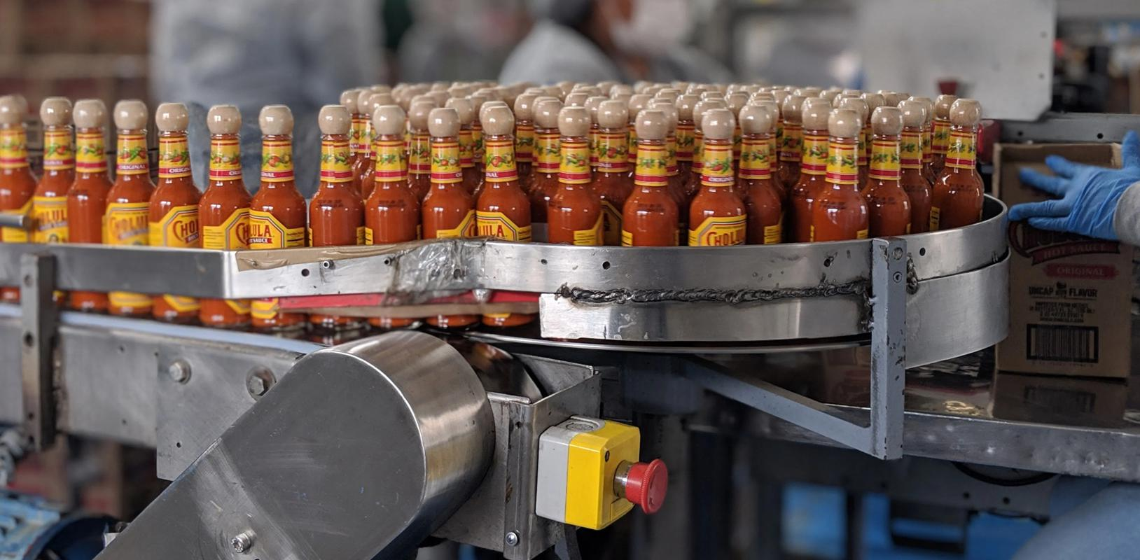 Image Les sauces cholula