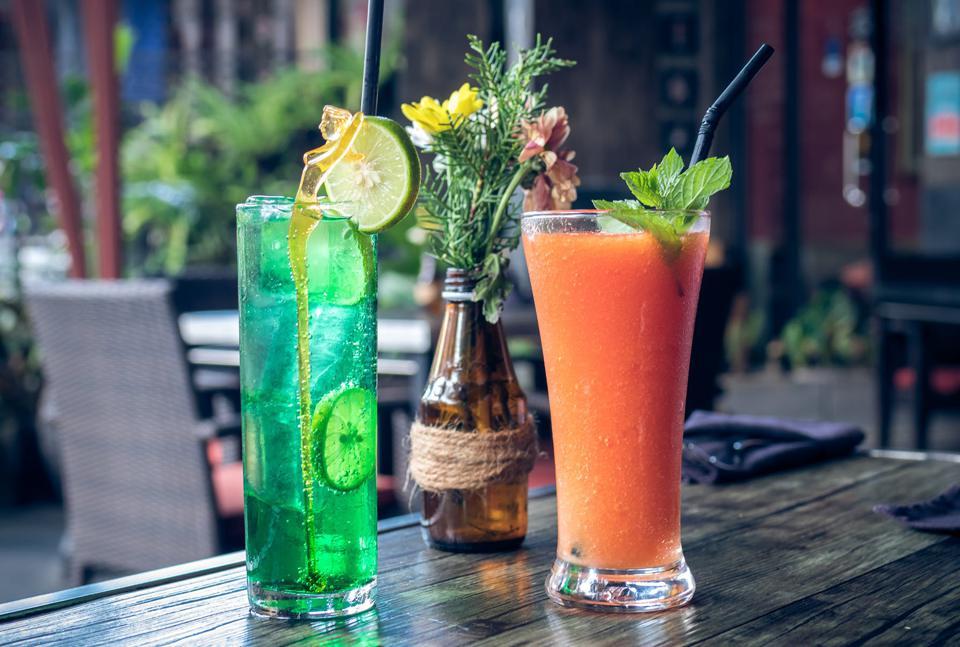 Image Cocktails piquants