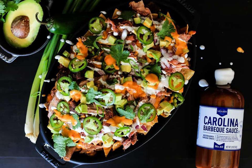 Image Sauces et épices pour pulled pork